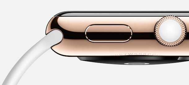 Apple Watch rose gold white gray