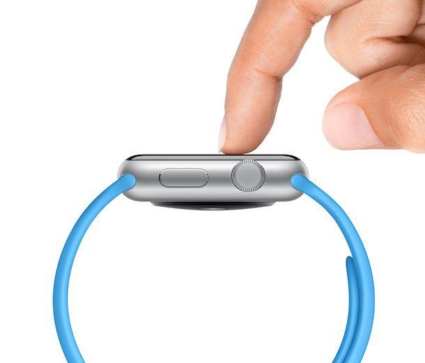 Apple Watch sensitive tap