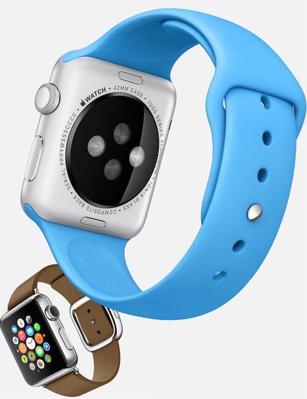 Apple Watch sport blue modern buckle