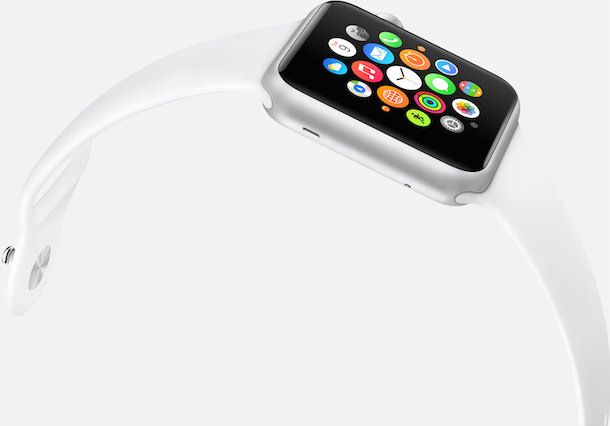 Apple Watch sport home screen apps