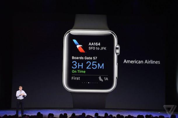 Экран Apple Watch в деле