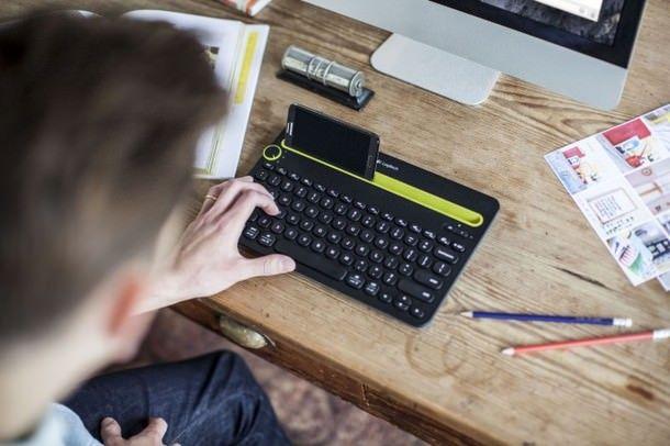 Беспроводная клавиатура K480 от Logitech