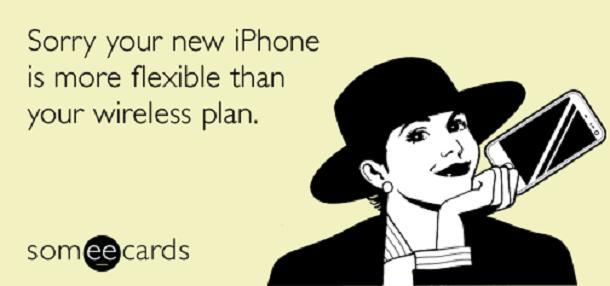 Гнутый айфон тарифный план