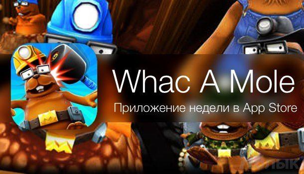 Игра Whac A Mole для iphone ipad