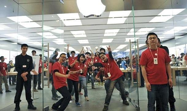 Apple Store в Китае