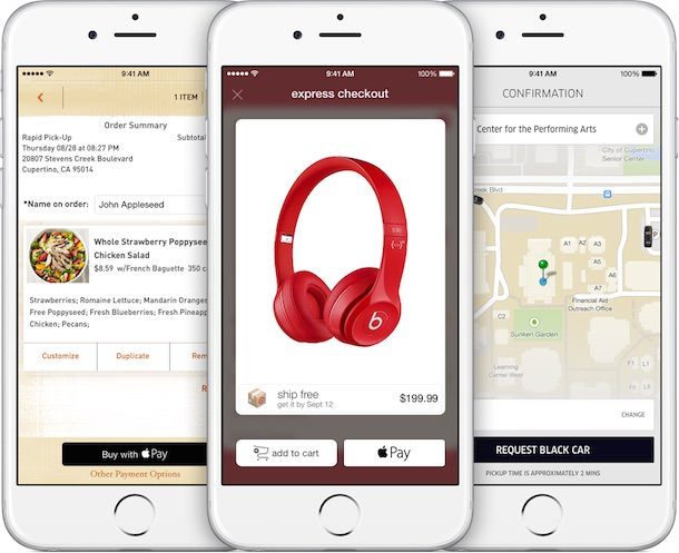 apple pay iPhone 6 convenient