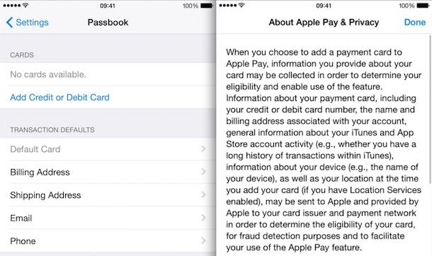 apple Pay и Touch ID