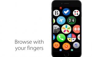 Как бы выглядел интерфейс Apple Watch на iPhone?