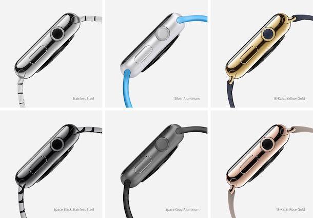 Часы Apple Watch цвета