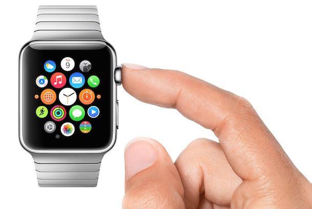 Часы Apple Watch масштабирование