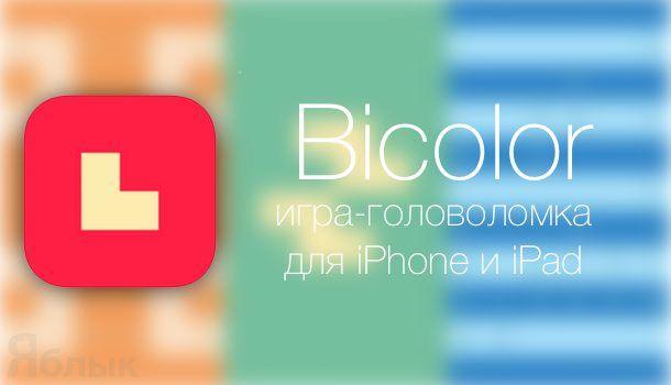 головоломка bicolor для iphone и ipad