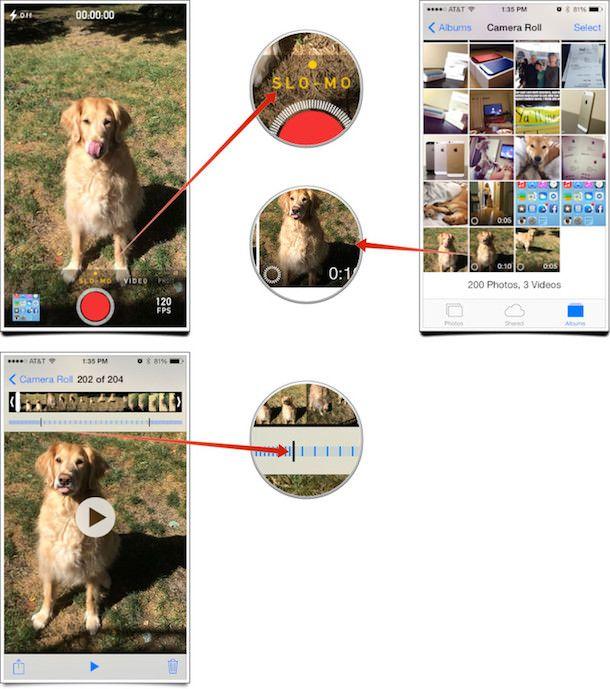 SloMo на iPhone 5s
