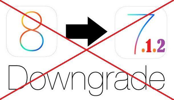 Даунгрейд с iOS 8