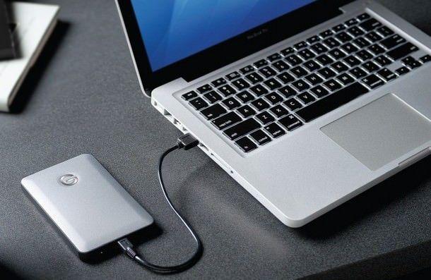 Портативные внешние жесткие USB-накопители для Mac