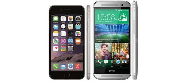 iPhone 6 vs. HTC One (M8)