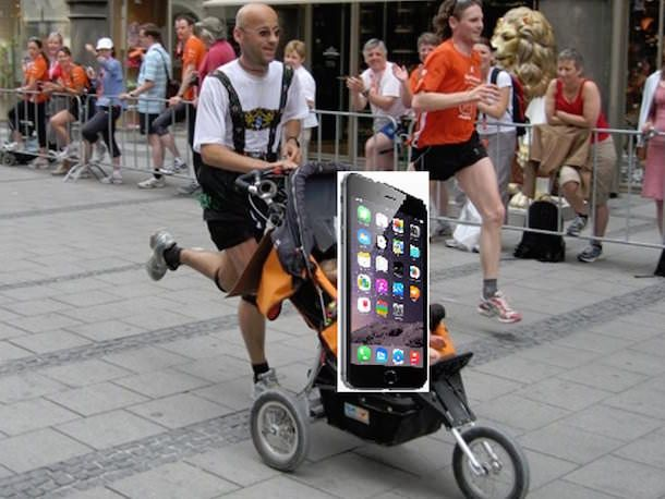 Как заниматься бегом с iPhone 6 Plus