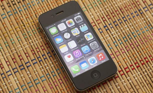 iOS 8 на iPhone 4s