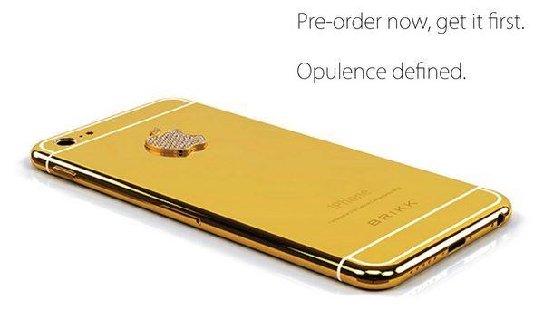 Открыт предзаказ на iPhone 6 со 128 Гб памяти и корпусом из золота
