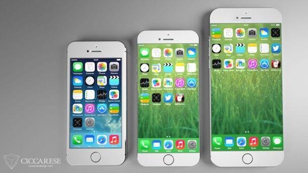 iPhone 6 с экраном 5,5 дюйма