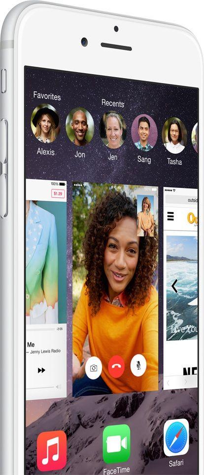 iPhone 6 app switcher