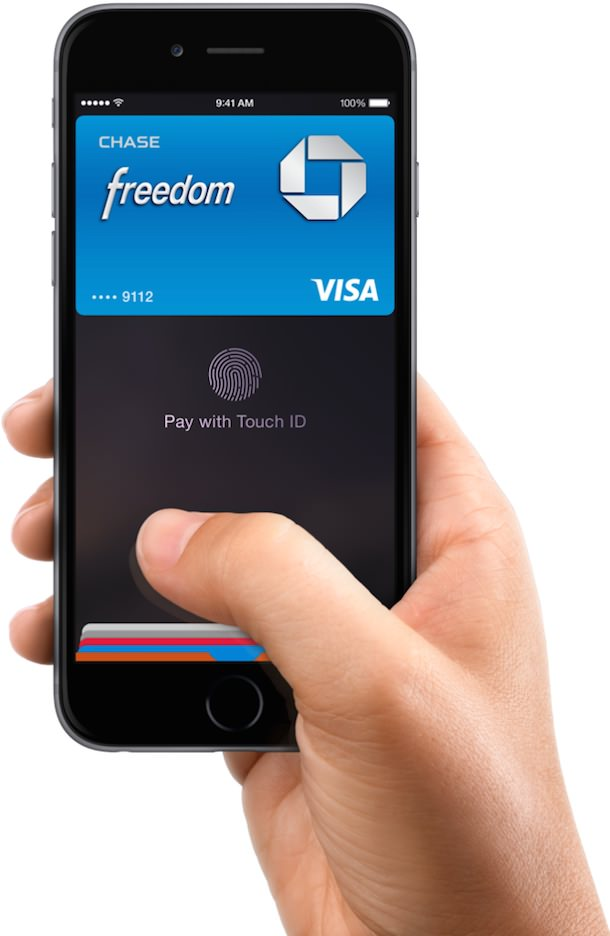 iPhone 6 apple pay chase visa