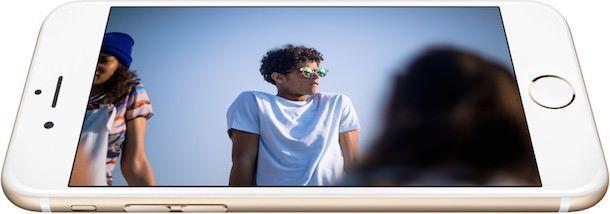 iPhone 6 display contrast