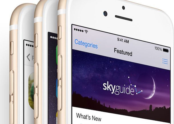 Золотистый iPhone 6