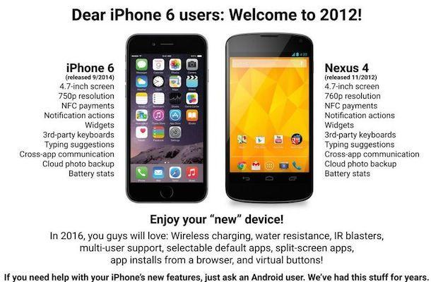 iPhone 6 не такой уж инновационный