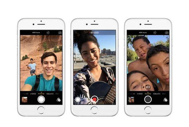 iPhone 6 селфи