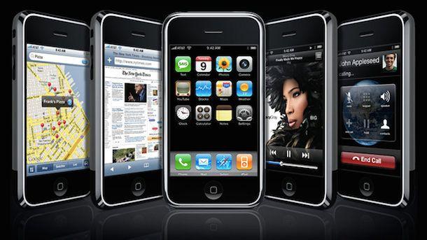 iPhone 2G экраны