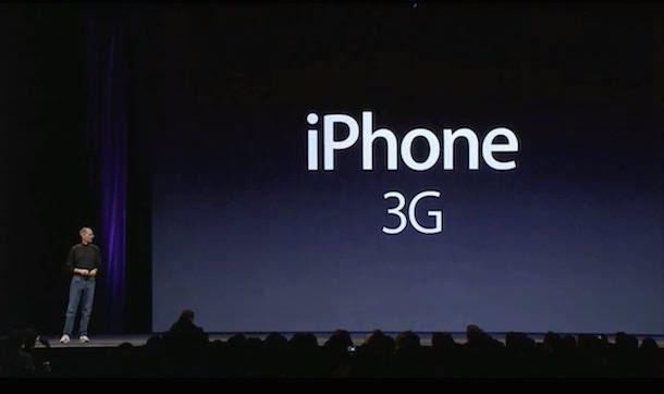 iphone 3g Стив Джобс