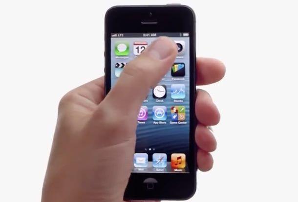 реклама iPhone 5