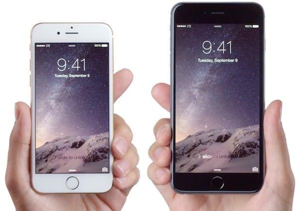 реклама iphone 6
