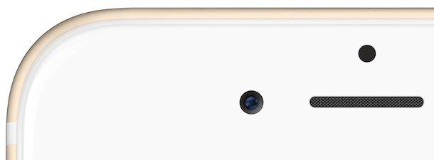 FaceTime фронтальная камера в iPhone 6