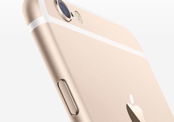Золотой Apple iphone 6