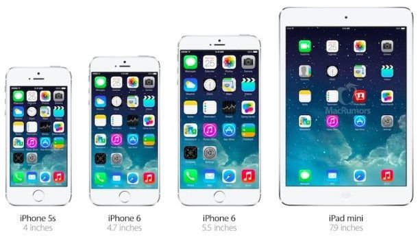 iphone 6 ipad mini