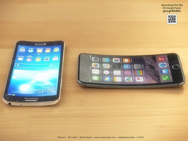 iPhone 6 Plus vs Samsung Galaxy Round