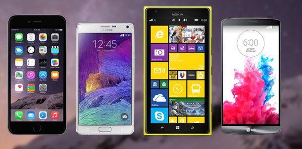 Сравнение iPhone 6 с Nokia, Samsung, LG