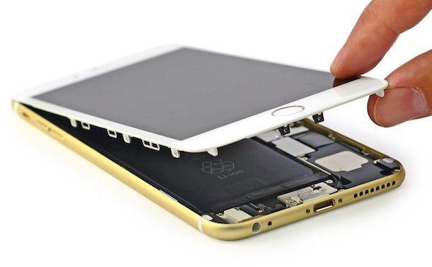 Разборка iPhone 6