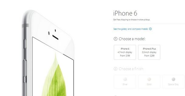 Apple открыла предзаказ на iPhone 6