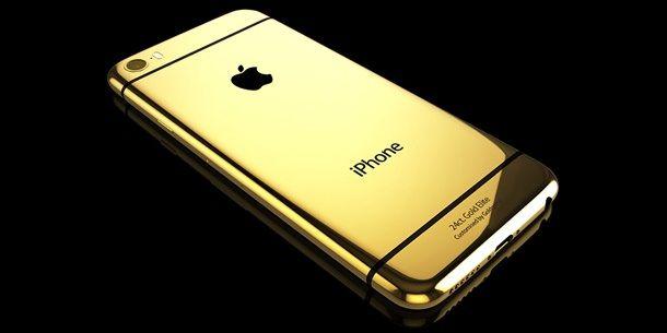 Золотой iPhone6 Elite