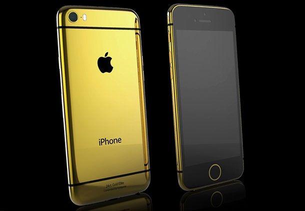 Золотой iPhone 6 Elite