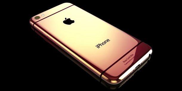 iPhone 6 Elite розовое золото