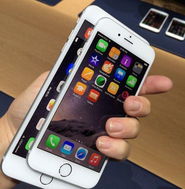 Apple iPhone 6 и iPhone 6 Plus hand on