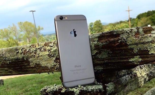Качество съемки на iphone 6 plus