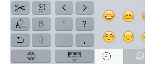 В стандартной клавиатуре iPhone 6 и iPhone 6 Plus увеличилось число клавиш