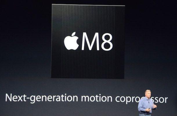 M8 - сопроцессор движения в iPhone 6