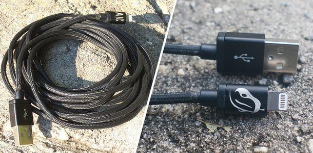 Mamba Cable - сверхпрочный длинный Lightning-кабель для iPhone и iPad