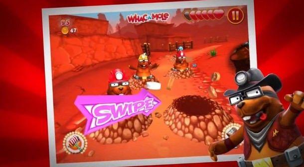 Игра Whac A Mole от Mattel будет бесплатной в App Store до конца недели