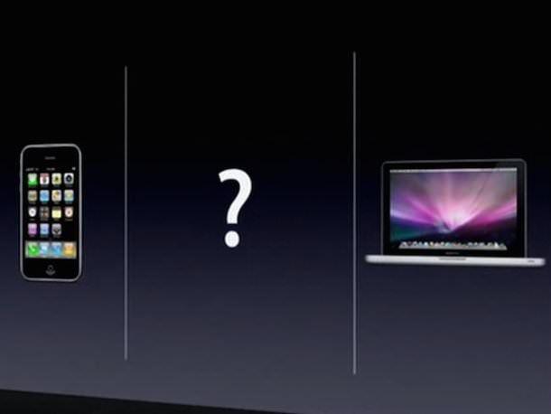 Кадр с презентации iPad, 2010 год